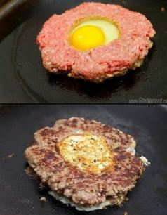 egg hamburger